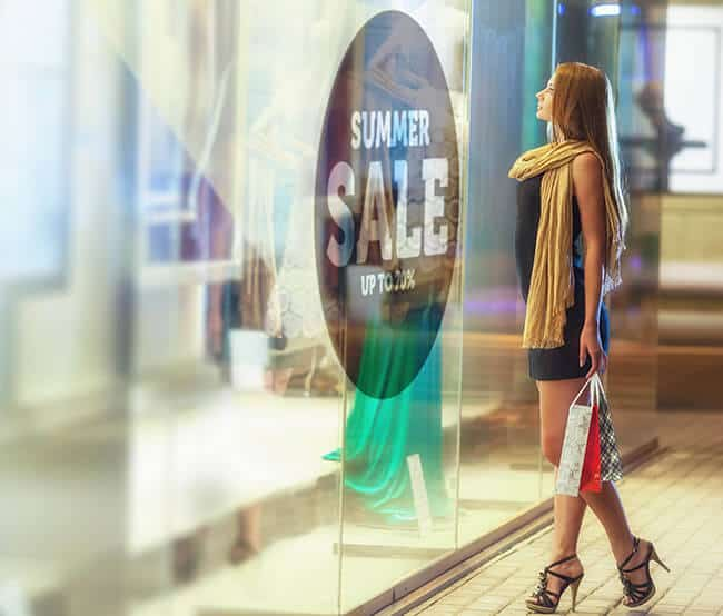 smartglass storefront