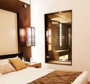 smartglass hotel partition