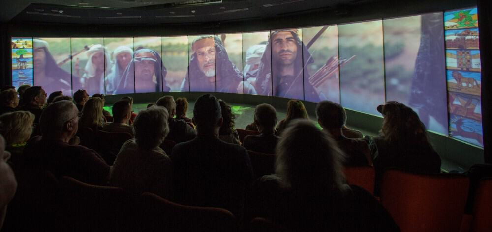 projection at shilo