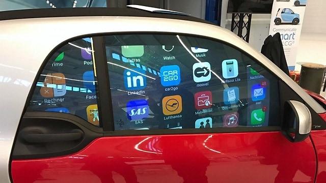 Gauzy smart car