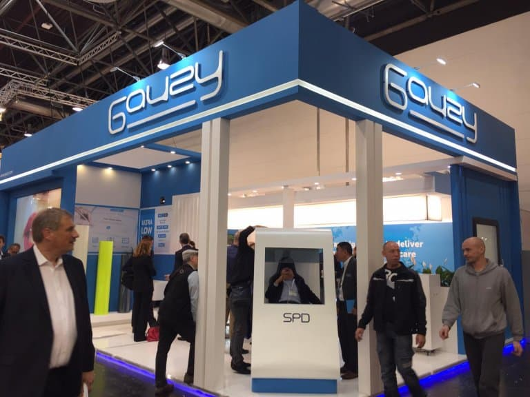 Gauzy Glasstec Booth