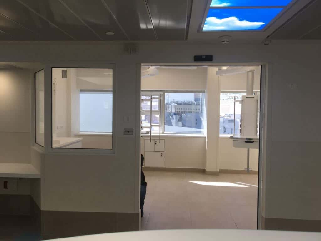 switchable smart glass in hospital