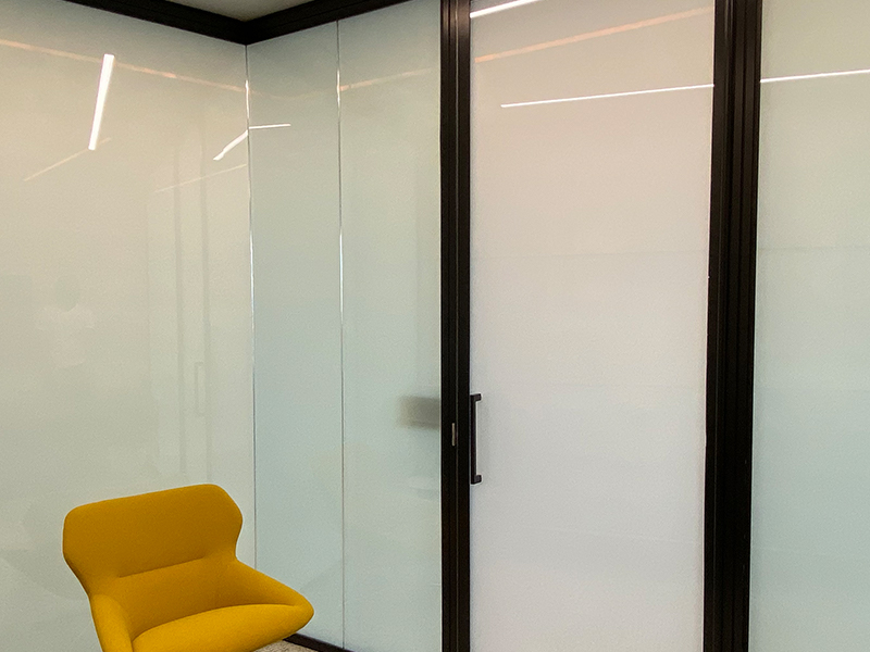 """Smart Glass for office in """"off"""" state"""