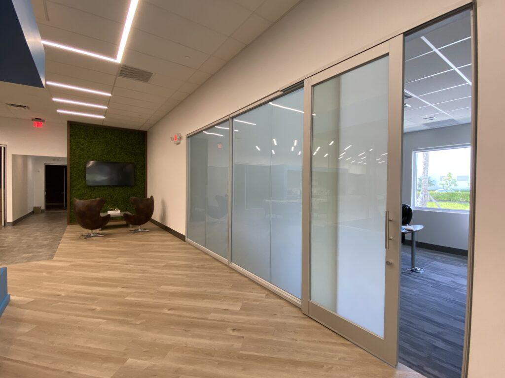 Office PDLC Sliding Door